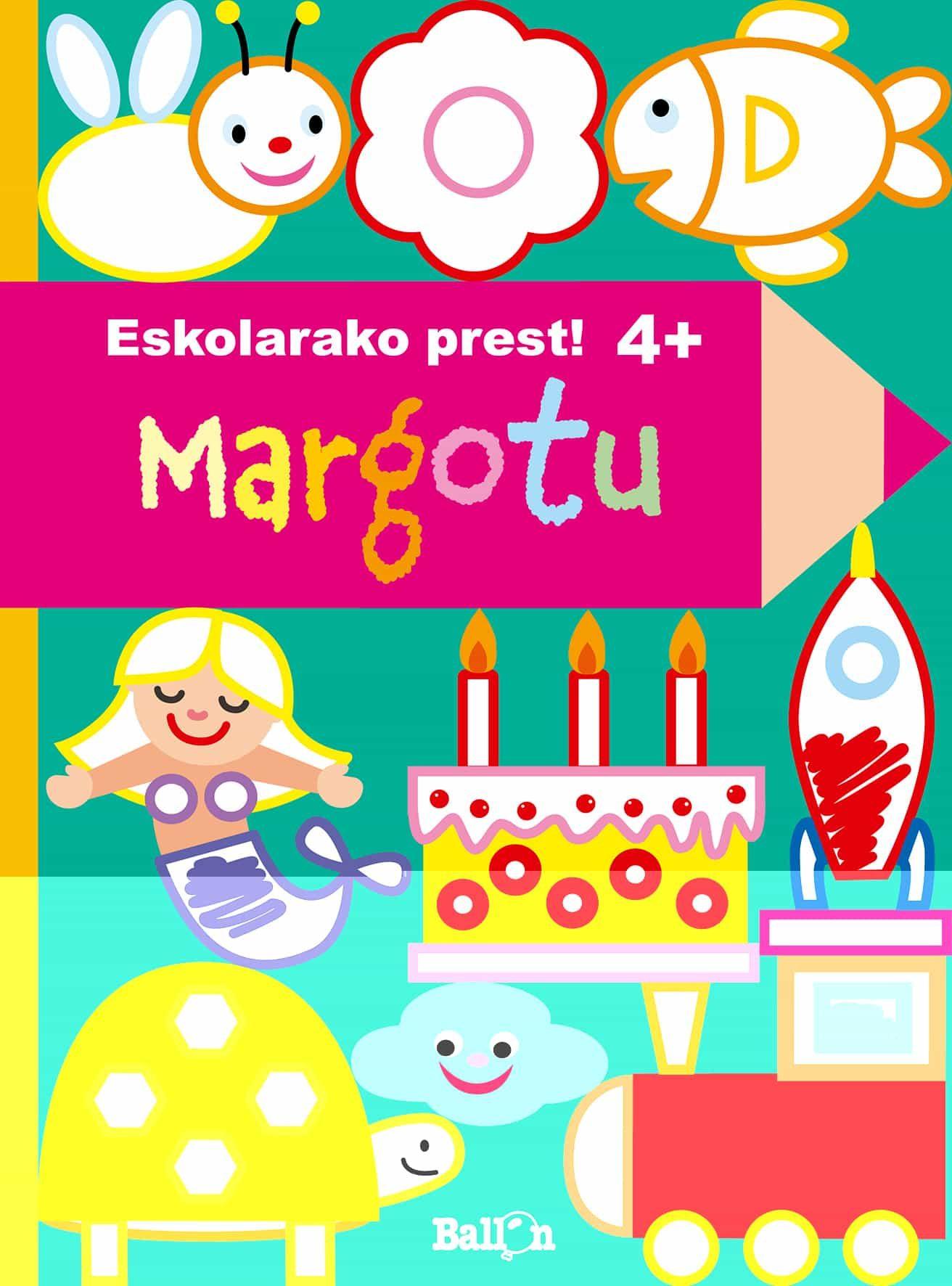 descargar ESKOLARAKO PREST! - MARGOTU (4 URTE) pdf, ebook
