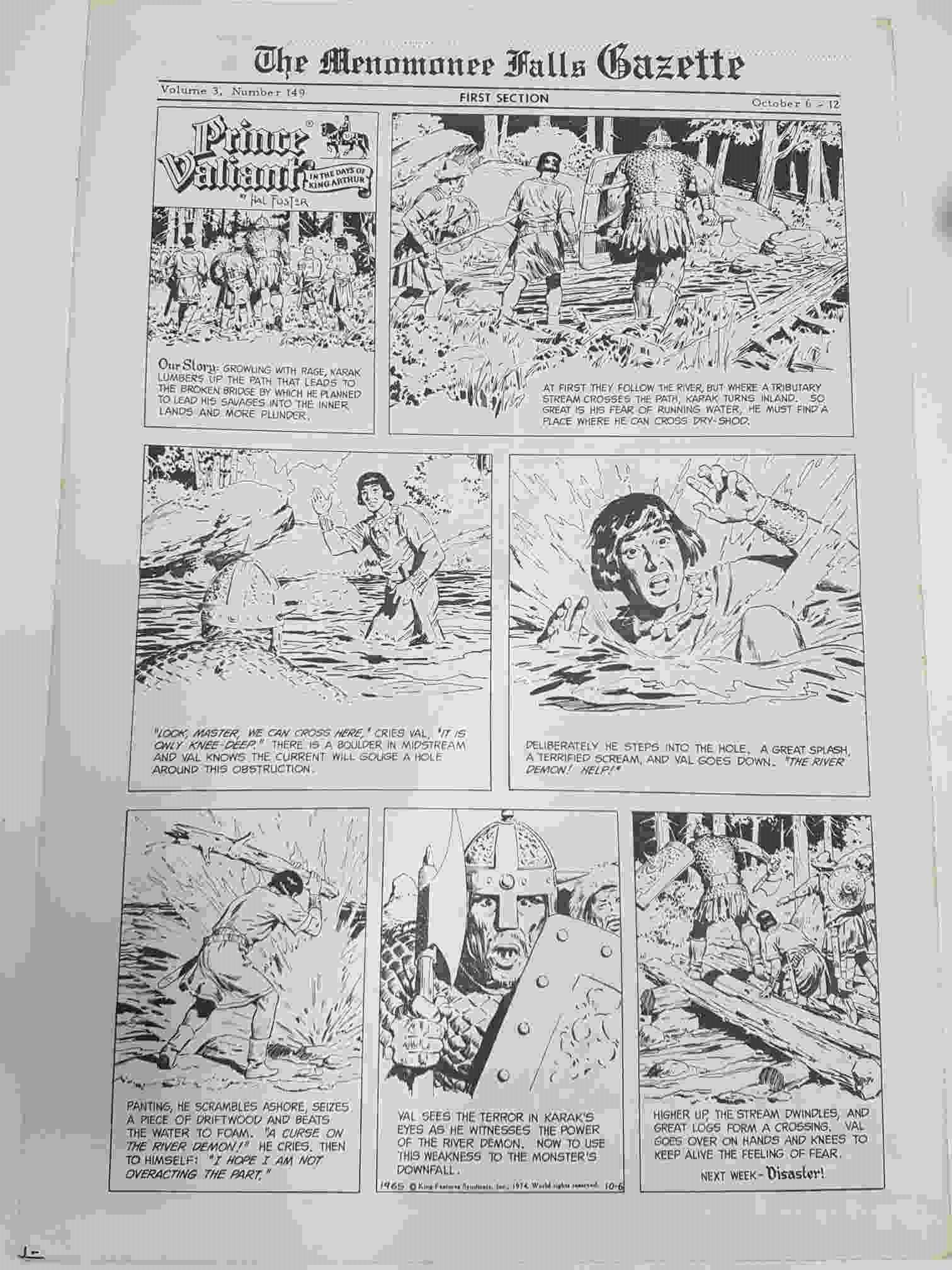 The Menomonee Falls Gazette Volumen 3 Numero 149 First Section (10.1974) - Descarga de libros electrónicos de Epub