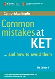 Common Mistakes At Ket...and How To Avoid Them por Liz Driscoll epub