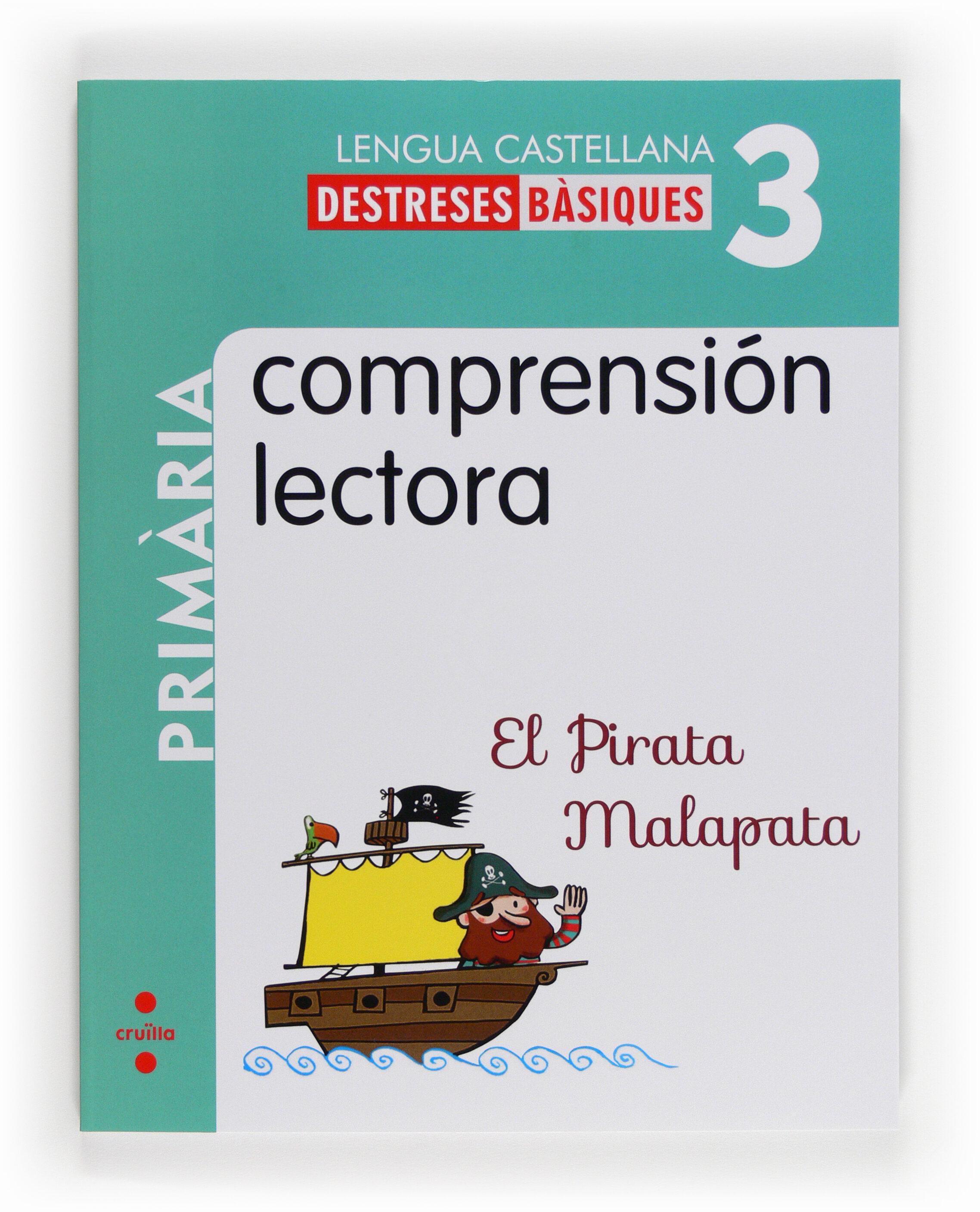 destrezas básicas. comprensión lectora 3 3 3º primaria catala-9788466132589