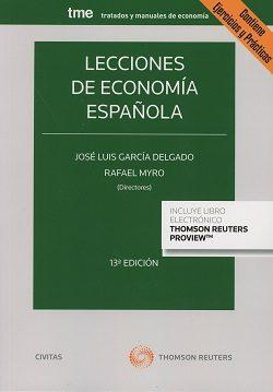 Civitas: Lecciones De Economía Española (13ª Ed) por Jose Luis Garcia Delgado