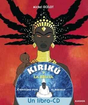 Resultado de imagen de Kirikú la bruja un libro cd