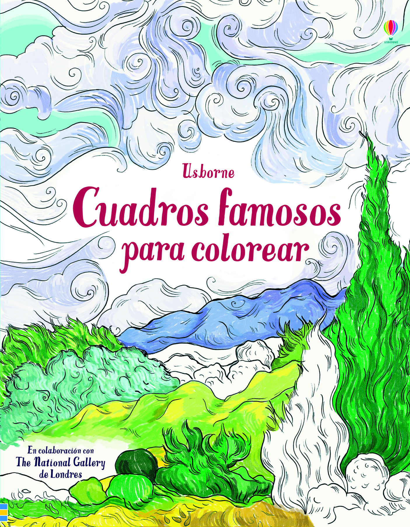 CUADROS FAMOSOS PARA COLOREAR   SUSAN MEREDITH   Comprar libro ...