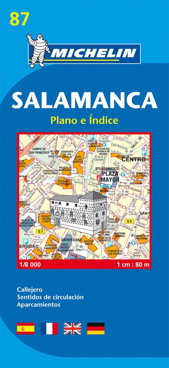 Plano Michelin Salamanca (ref.19087) por Vv.aa. Gratis