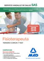 Fisioterapeuta Del Servicio Andaluz De Salud. Temario Comun Y Test por Mad
