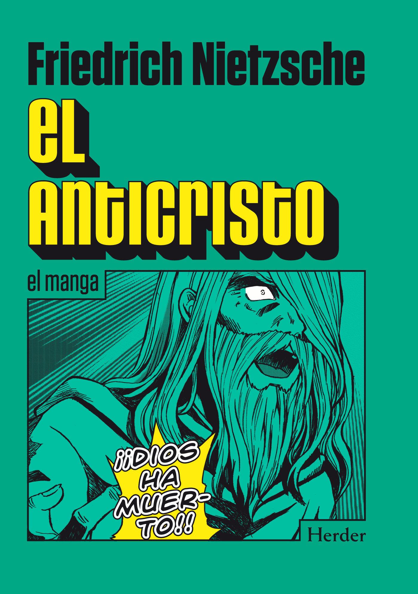 El anticristo manga friederich nietzsche 9788425433399