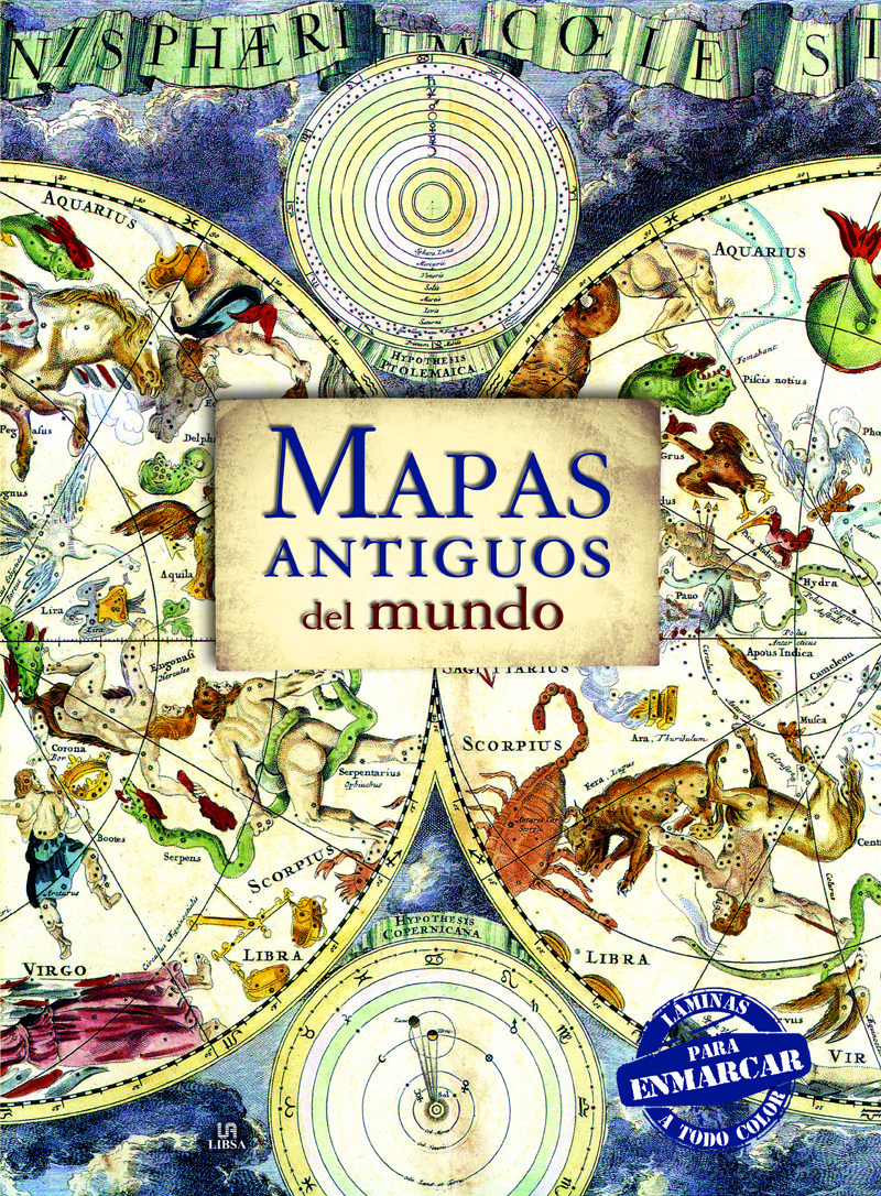 MAPAS ANTIGUOS DEL MUNDO (LAMINAS PARA ENMARCAR) | VV.AA. | Comprar ...