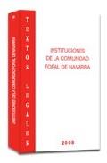 Instituciones Comunidad Foral De Navarra Inap-8 por Vv.aa.