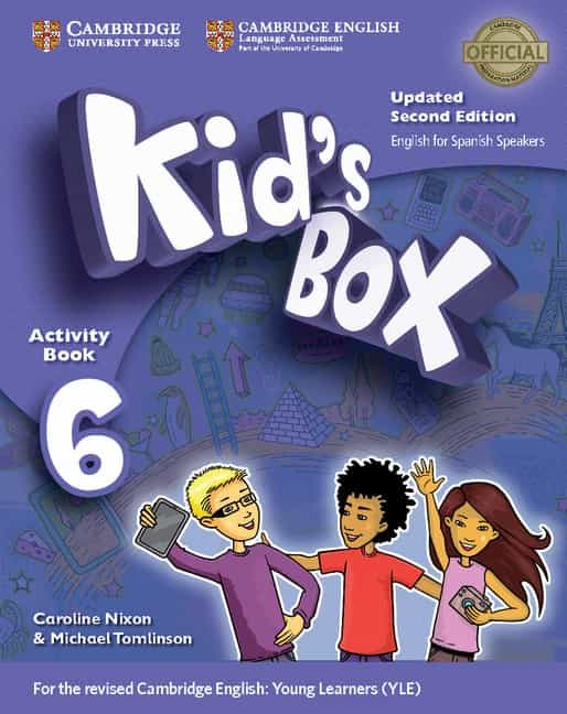 kid s box ess 6 2ed updated wb/cd rom/hm booklet-9788490365199