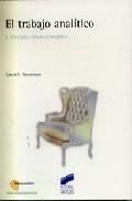 el trabajo analitico: conceptos indispensables-laura e. vaccarezza-9788497560399