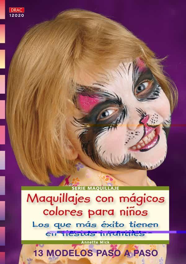 maquillajes con magicos colores para nios los que mas exito tie tienen en fiestas infantiles