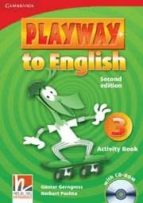 playway to english (2nd ed.): activity book with cd rom (nivel 3) herbert puchta 9780521131209