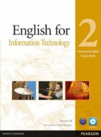 english for information technology level 2 coursebook and cd rom pack 9781408269909