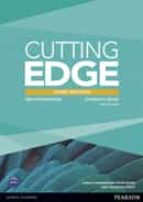 cutting edge 3rd edition pre-intermediate students  book and dvd pack-9781447936909
