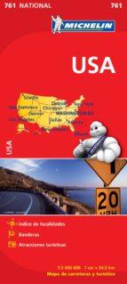 mapa usa 2012 (ref. 761) 9782067173309
