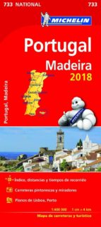 mapa national   portugal madeira 2018 9782067226609