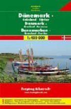 dinamarca, groenlandia e islas feroe, mapa de carreteras (1:40000 0) (freytag & berndt)-9783707900309