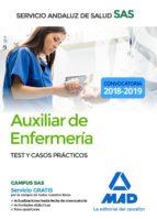 auxiliar enfermeria del servicio andaluz de salud. test y casos practicos 9788414216309