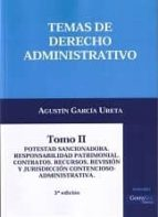 temas de derecho administrativo, tomo ii agustin garcia ureta 9788415176909
