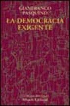 la democracia exigente gianfranco pasquino 9788420667409