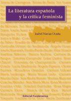 la literatura española y la critica feminista-maria isabel navas ocaña-9788424511609