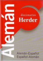 diccionario herder aleman español español aleman-9788425422409