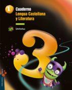 cuaderno cuadrícula - lengua 1-3 superpixépolis cuaderno cuadrícula - lengua 1-2  superpixépolis-9788426392909