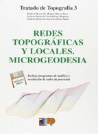 redes topograficas y locales-manuel chueca pazos-9788428323109