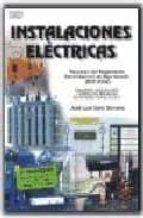 instalaciones electricas. resumen del reglamento electrotecnico d e baja tension (boe 2002)-jose luis sanz serrano-9788428328609