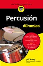 percusión para dummies-jeff strong-9788432904509