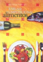 tabla de composicion de alimentos (5ª ed.)-jose mataix verdu-9788433849809