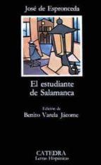 el estudiante de salamanca (22ª ed.) jose de espronceda 9788437600109