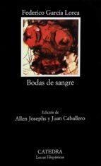 bodas de sangre (8ª ed.) federico garcia lorca 9788437605609
