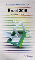 excel 2016-francisco chartre-9788441538009