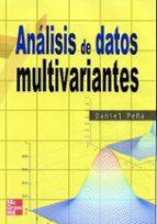 analisis de datos multivariantes-daniel peña-9788448136109