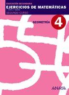 cuaderno 4 geometria (2º eso) matematicas educación secundaria obligatoria primer ciclo 2º-9788466769709