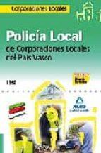 policia local de corporaciones locales del pais vasco. test-9788467606409