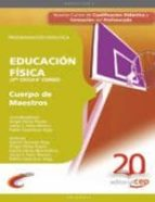 cuerpo de maestros. educacion fisica (3er ciclo-6º curso): progra macion didactica-9788468105109