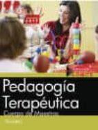 cuerpo de maestros. pedagogia terapeutica. temario-9788468174709