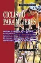 ciclismo para mujeres 9788479022709