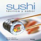 sushi: tecnica y sabor-kimiko barber-hiroki takemura-9788480769709