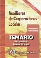 administrativos de corporaciones locales volumen ii manuel segura ruiz 9788482193809