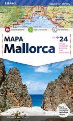 mapa mallorca (1:130000)-9788484780809