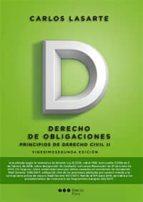 principios de derecho civil tomo ii: derecho de obligaciones (22ª ed.) carlos lasarte álvarez 9788491235309