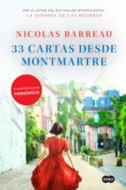 33 cartas desde montmartre nicolas barreau 9788491293309