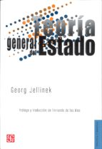teoria general del estado-georg jellinek-9789681659509