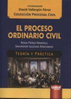 proceso ordinario civil rosa perez martell 9789897122309