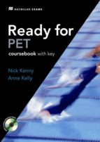 ready for pet coursebook with key + cd 9780230020719
