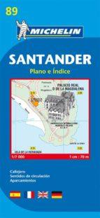 plano michelin santander (ref.19089) 9782067128019