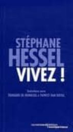vivez !: entretiens avec edouard de hennezel et patrice van eerse l-stephane hessel-9782355360619